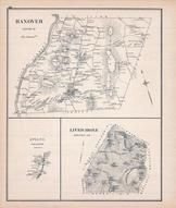 Hanover, Livermore, ETNA, New Hampshire State Atlas 1892 Uncolored